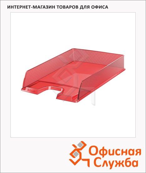 Лоток горизонтальный для бумаг Esselte Europost А4, красный, 623601