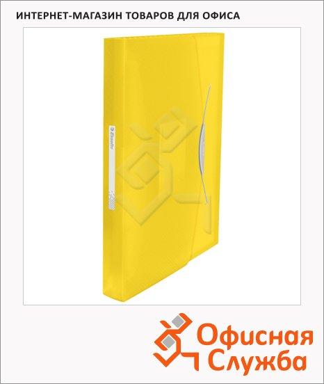 Папка-органайзер Esselte Vivida желтая, А4, 6 разделов, 624020