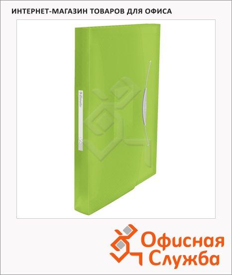 Папка-органайзер Esselte Vivida зеленая, А4, 6 разделов, 624019