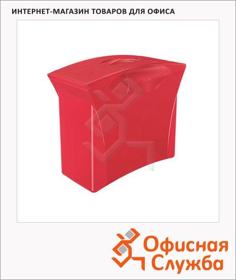 фото: Контейнер для подвесных папок Esselte Europost Vivida красный А4, до 15 папок