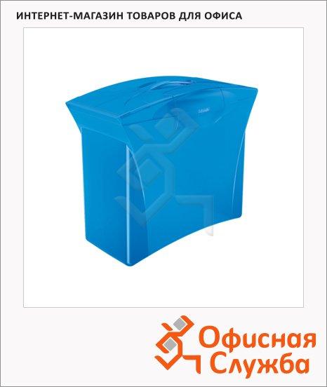 фото: Контейнер для подвесных папок Esselte Europost Vivida синий А4, до 15 папок