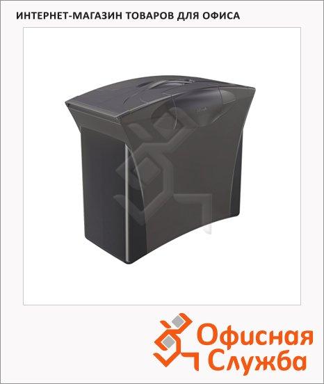 Контейнер для подвесных папок Esselte Europost Vivida черный, А4, до 15 папок