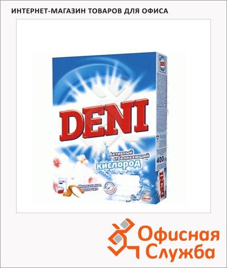 Стиральный порошок Deni 0.4кг, свежесть лимона, ручная стирка
