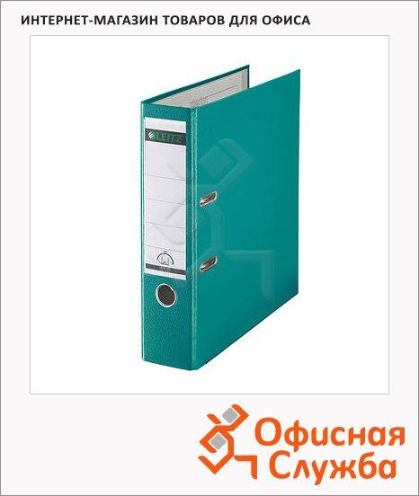 Папка-регистратор А4 Leitz бирюзовая, 80 мм, 10101252