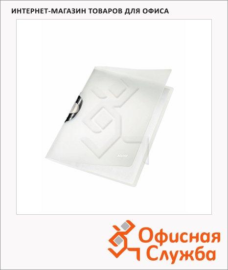 Пластиковая папка с клипом Leitz ColorClip черная, А4, до 40 листов, 41660095