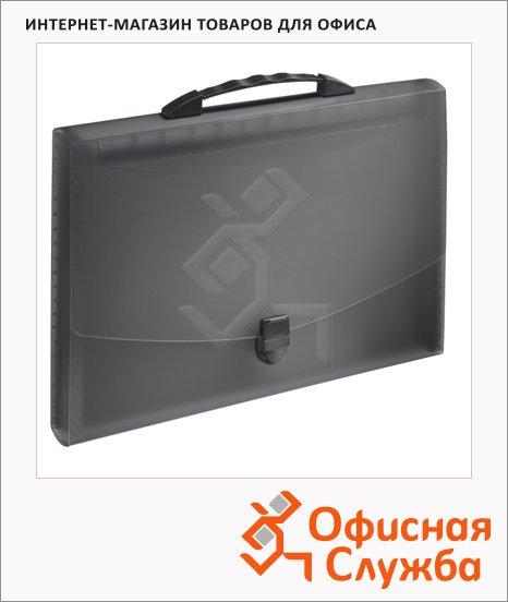 Портфель пластиковый Esselte Vivida черный, 624024