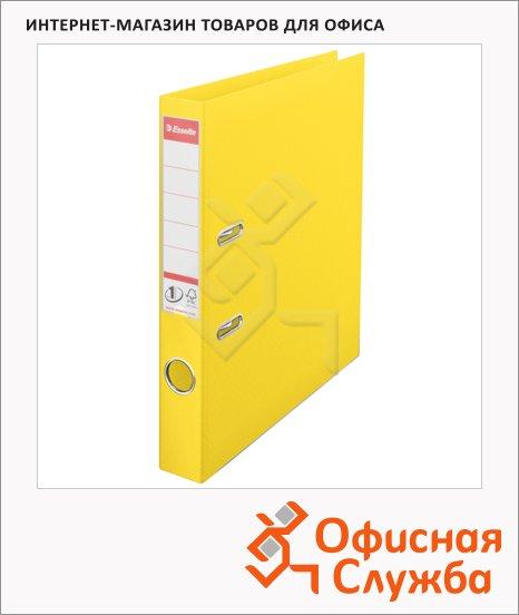 Папка-регистратор А4 Esselte Vivida Plus желтая, 50 мм, 624074