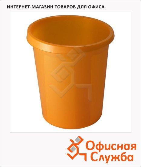 Корзина для бумаг Стамм 9л, манго, КР66