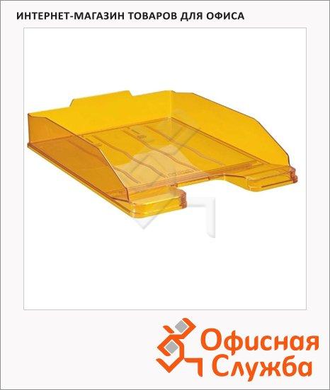 фото: Лоток горизонтальный для бумаг Стамм Эксперт А4 манго, ЛТ209