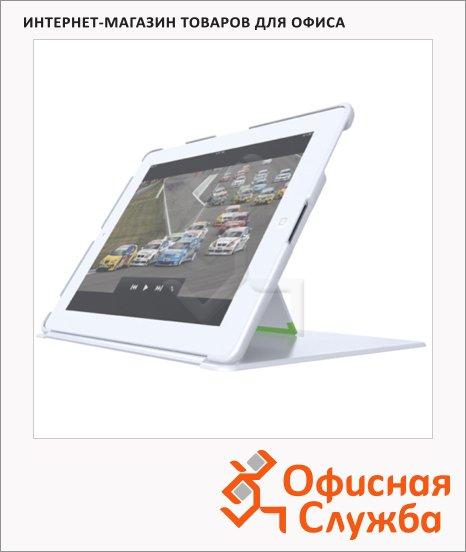 Чехол с подставкой для Apple iPad Leitz Complete белый, пластиковый, 62520001