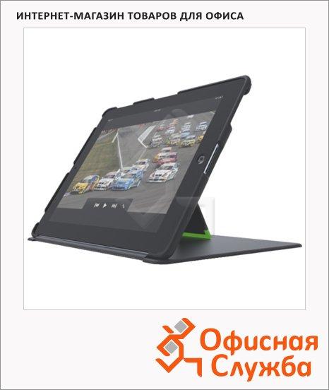 Чехол с подставкой для Apple iPad Leitz Complete черный, пластиковый, 62520095