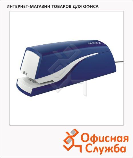 Степлер электрический Leitz NeXXt е1, до 10 листов, синий