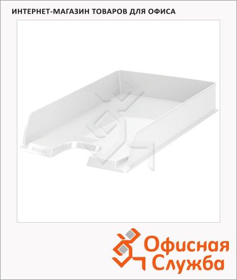 Лоток горизонтальный для бумаг Esselte Vivida Europost А4, белый, 623608
