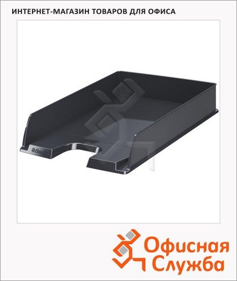 Лоток горизонтальный для бумаг Esselte Vivida Europost А4, черный, 623605
