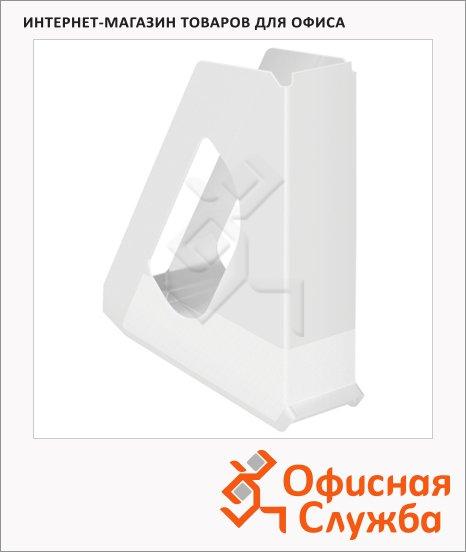 Накопитель вертикальный для бумаг Esselte Europost Vivida А4, 72мм, белый, 623702