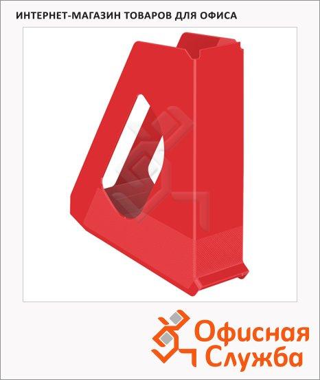 фото: Накопитель вертикальный для бумаг Esselte Europost Vivida А4 72мм, красный, 623935