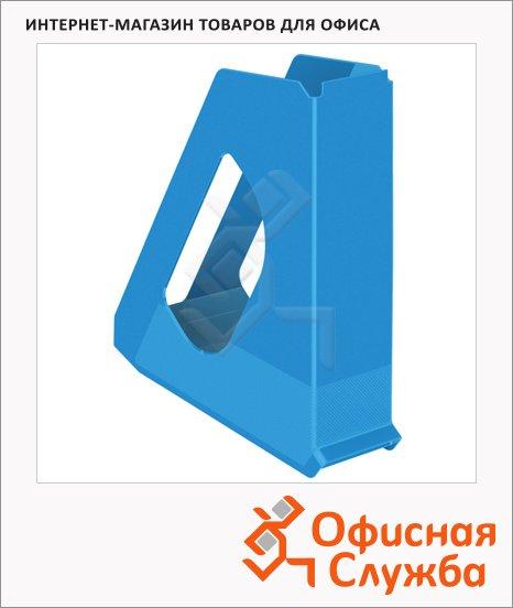 фото: Накопитель вертикальный для бумаг Esselte Europost Vivida А4 72мм, синий, 623937