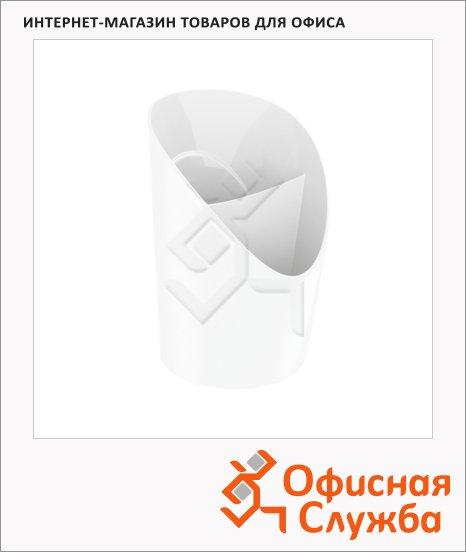 Подставка для ручек Esselte Europost VIVIDA 2 секции, 125х100мм, белая, 623941