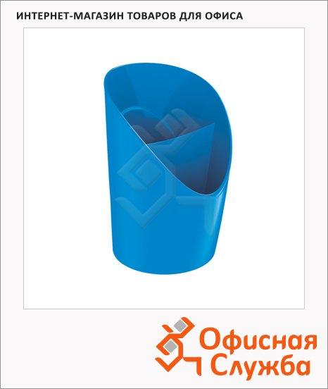 Подставка для ручек Esselte Europost VIVIDA 2 секции, 125х100мм, синяя, 623943