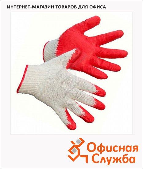 Перчатки трикотажные 1 пара, латексное покрытие