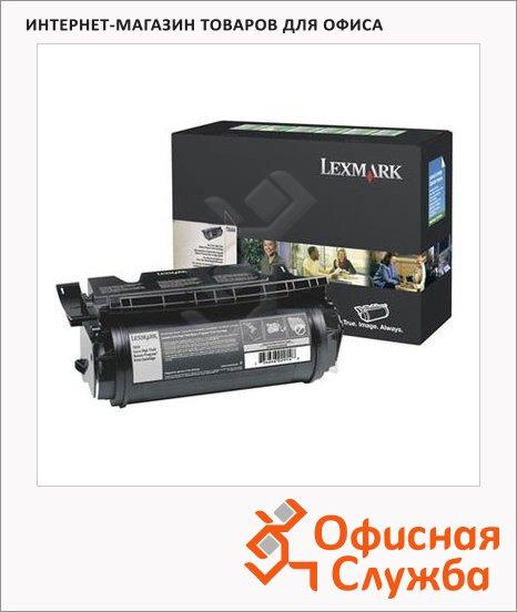 Тонер-картридж Lexmark 64416XE, черный
