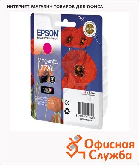 фото: Картридж струйный Epson C13 T17134 A10 пурпурный