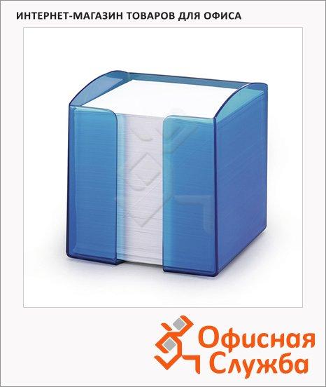 фото: Блок для записей непроклеенный в подставке Durable Trend белый в синем блоке 90х90мм, 800 листов, 80 листов, 1701682540