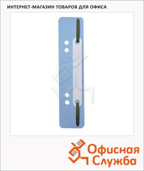 Механизм для скоросшивателя металлический Durable голубой, 250 шт/уп, 6901-06