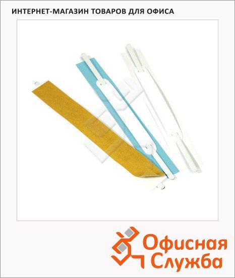 Механизм для скоросшивателя самоклеящийся Durable Filefix голубой, 100 шт/уп, 6906-06
