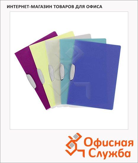 Пластиковая папка с клипом Durable Swingclip Color ассорти, А4, до 30 листов, 2266-00
