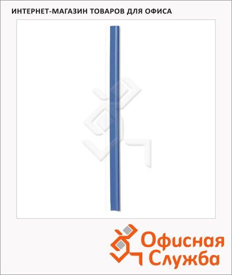 Скрепкошина Durable Spine bars голубая, 297х13мм, до 30 листов, 100 шт/уп, 2900-06