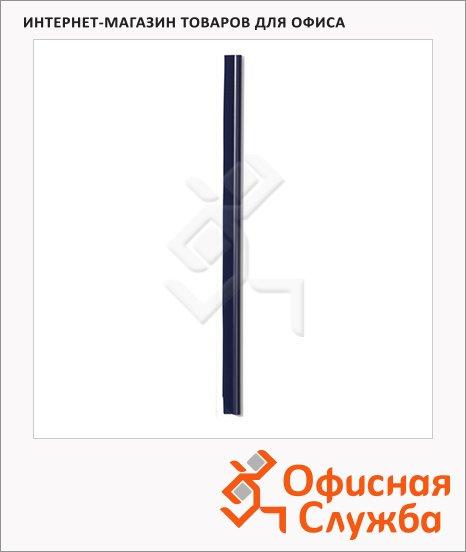 фото: Скрепкошина Durable Spine bars синяя 297х13мм, до 30 листов, 100 шт/уп, 2900-07