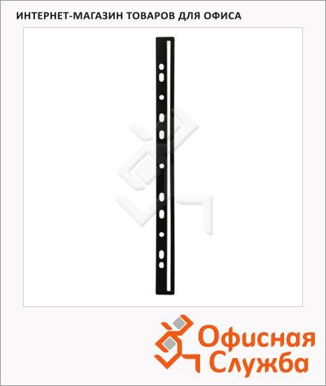 Скрепкошина Durable для каталогов черная, А4, 50 шт/уп
