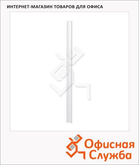 фото: Скрепкошина Durable Spine bars прозрачная 297х13мм, до 30 листов, 100 шт/уп, 2900-19