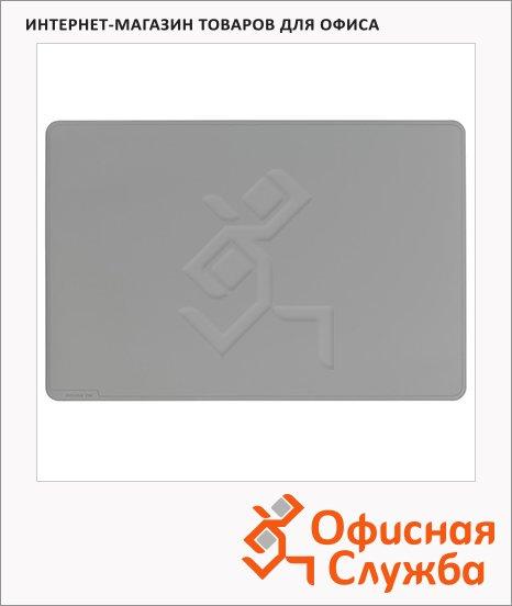 Коврик настольный для письма Durable 40x53см, серый, 7102-10
