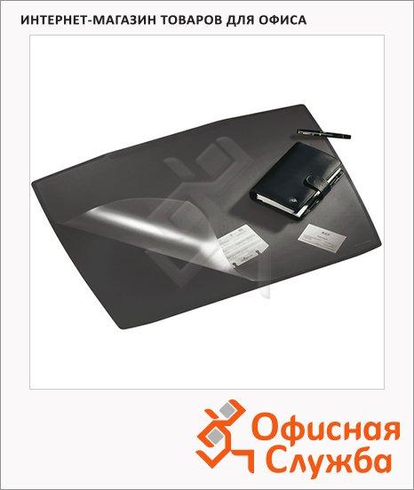 Коврик настольный для письма Durable Artwork 68х53см, черный, 7201-10