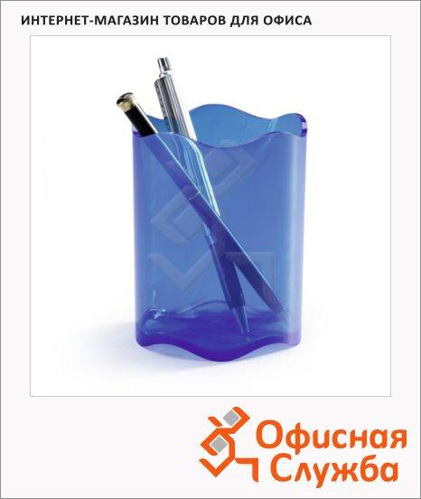 фото: Подставка для ручек Trend 102х80мм синяя, 1701235540
