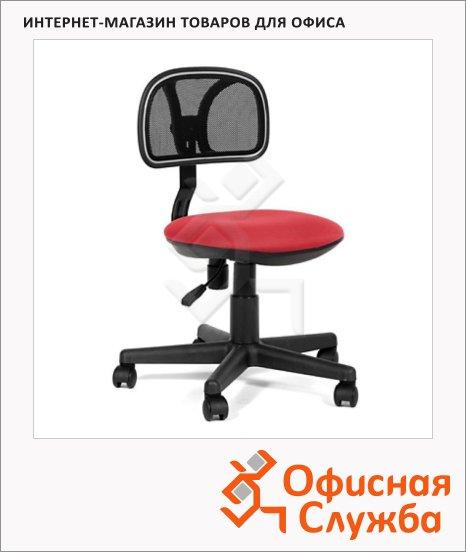 Кресло офисное Chairman 250 ткань, крестовина хром, красная