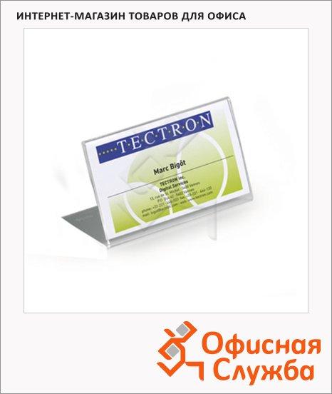 Табличка настольная Durable 54х100 мм, 10шт, 8055-19