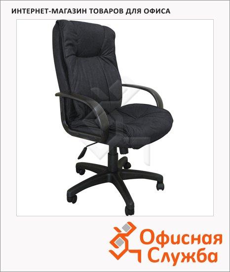 Кресло руководителя Бюрократ CH-838AXSN ткань, крестовина пластик, черная