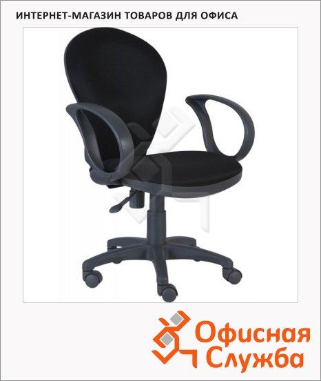 Кресло офисное Бюрократ CH-G687AXSN ткань, черная, крестовина пластик, серая