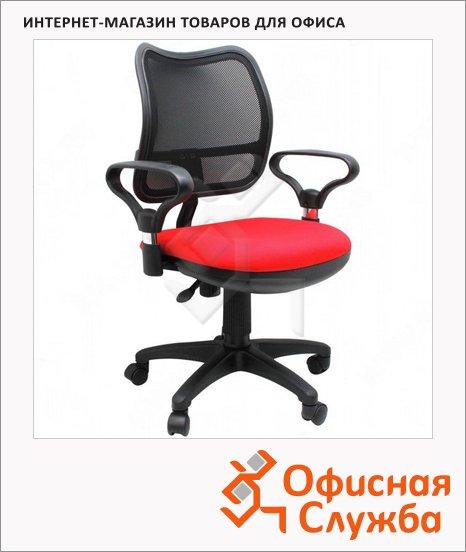 Кресло офисное Бюрократ CH-799AXSN красное