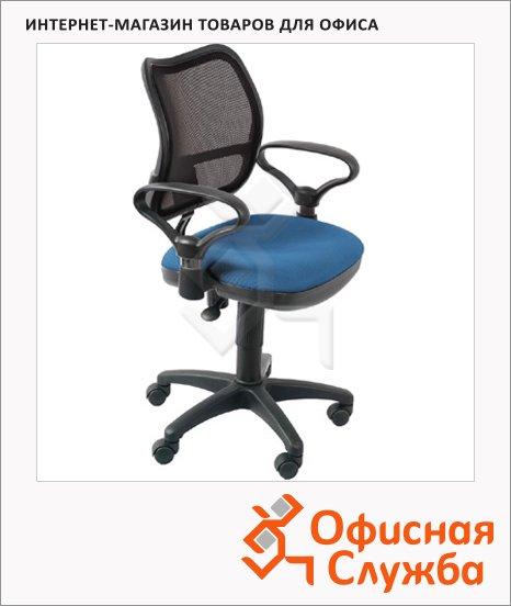 Кресло офисное Бюрократ CH-799AXSN ткань, синяя