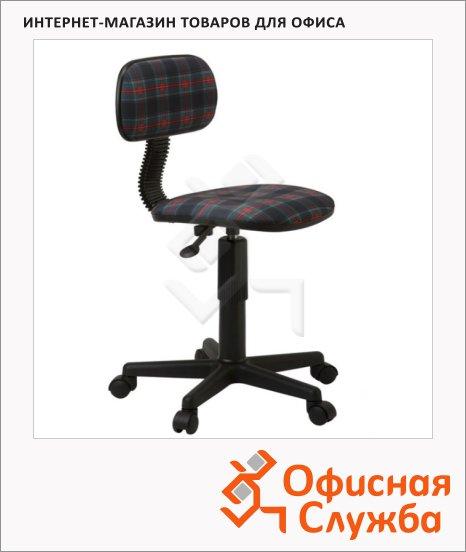 Кресло детское Бюрократ CH-201NX/Dolls ткань, крестовина пластик, коричневая, клетка