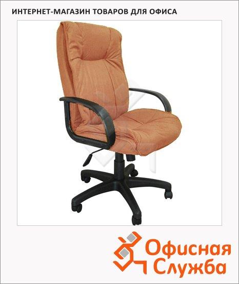 фото: Кресло руководителя Бюрократ CH-838AXSN ткань крестовина пластик, мокко