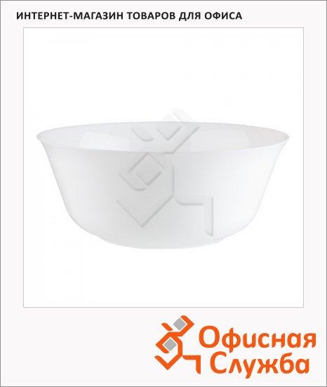Салатник Luminarc Director Opal белый, d=24см