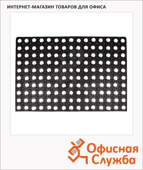 Коврик придверный Экоколлекция резиновый, 40х60см, 16мм, ассорти