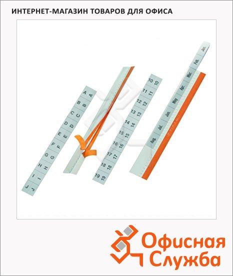 Табулятор самоклеящийся Durable 5 шт/уп, 8403, 8403-19
