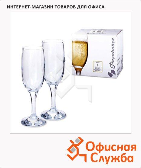 Бокал для шампанского Pasabahce Bistro 190мл, 6шт/уп