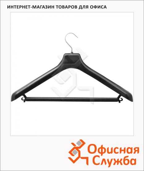 Плечики для одежды С-041 48-50 р, черные, 45 см